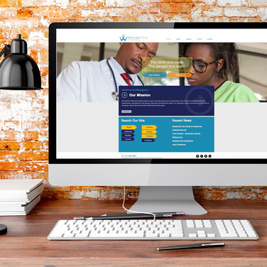 WonderStar Staffing Website Design