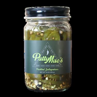 PattyMac's Jalapenos label