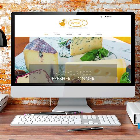 Ovtene Food Packaging Solutions Website