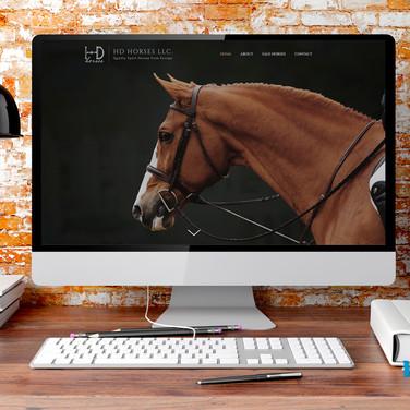 HD Horses LLC. Website