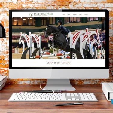 Ingenium Farm Website