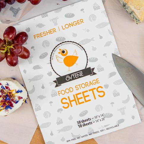Ovtene Food packaging design