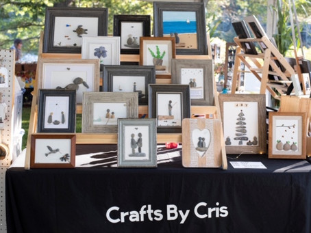 Crafts by Cris: Christmas in New England Arts and Crafts Fair in Augusta