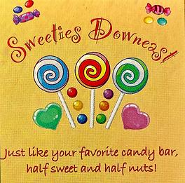 Shop Eastport Maine: Eastport's favorite candy shop - Sweeties Downeast. Fudge, hand-dipped chocolates, retro novelties, popcurn, nuts, sugar-free delights.