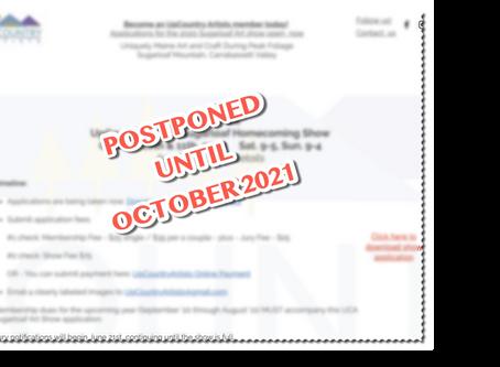 UCA Sugarloaf Homecoming Show Postponed until 2021
