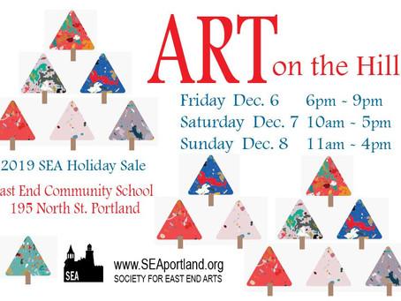 Art on the Hill - 2019 SEA Holiday Sale, Portland