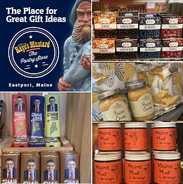 Shop Eastport Maine: Raye's Mustard Pantry Store and Gift Shop