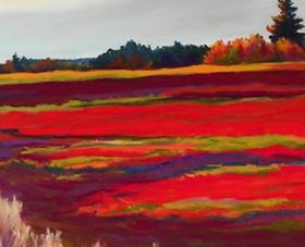 Shop Eastport Maine: Cynthia Morse, pastel artist and owner of the Eastport Breakwater Gallery in Eastport Maine