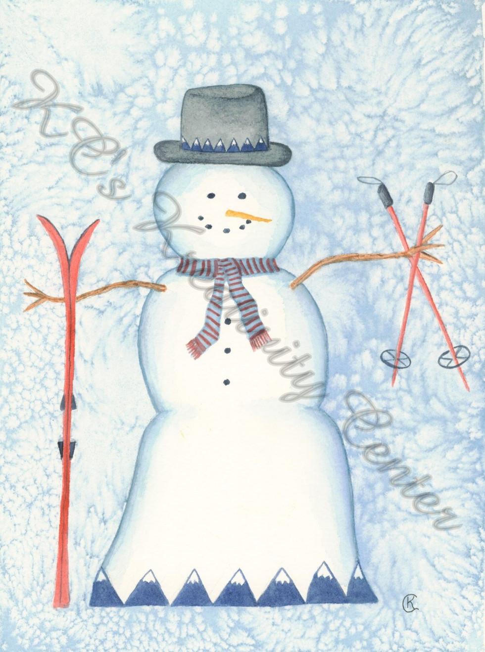 Sugarloaf Snowman
