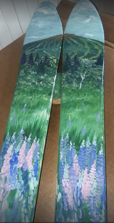 Alpine Design Ski Art