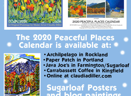 Claudia Diller: Peaceful Places Calendar