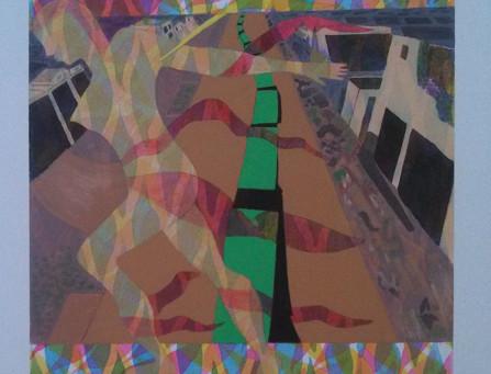 12/14: Sue Hellewell, Lynn Harwood and Faith Gilbert at Central Maine Artists Gallery