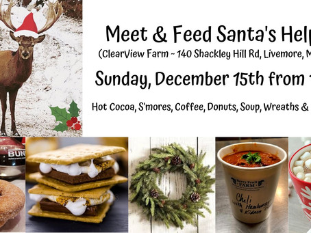 Meet & Feed Santa's Helpers - Event @ ClearView Farm