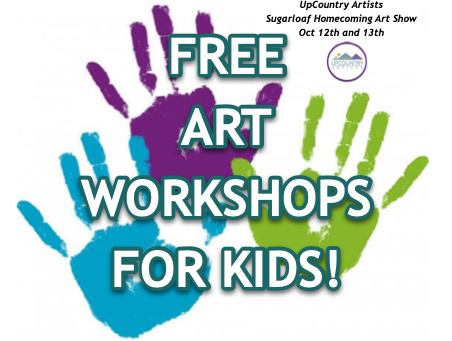 Free Children's Art Workshops Homecoming Weekend
