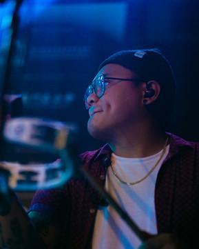 Niel Cuevas - guest drummer