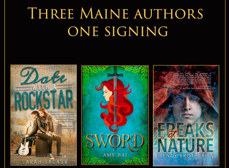 Three Maine YA Authors, One Incredible Signing!