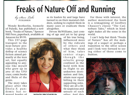Pulaski Citizen Gives Freaks of Nature a Fantastic Review!