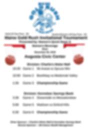 Maine Gold Rush Invitational Tournament-