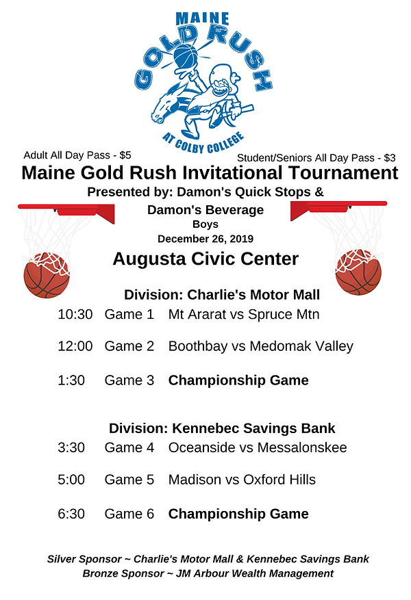Maine Gold Rush Invitational Tournament-