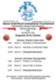Maine Gold Rush Invitational Tournament