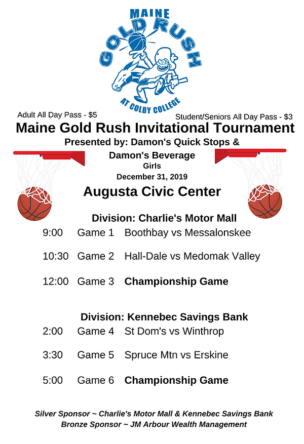 Maine Gold Rush Invitational Tournament