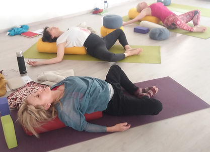 yin yoga con Bettina Pfaff