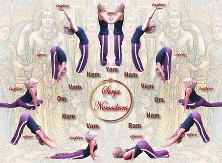 Suryanamaskara - Jiva Yoga