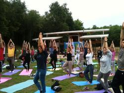 Yoga in Fattoria