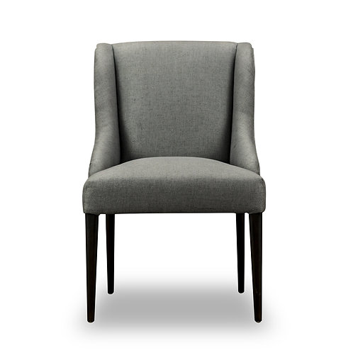 FARO SIDE CHAIR - AXIS CHARCOAL, AXIS METAL