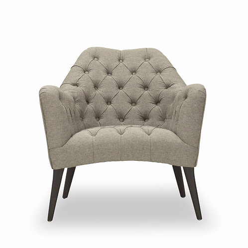 SVEN CHAIR - VINTAGE GRAY, VINTAGE TUFTED GRAY