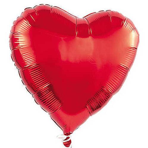 Red Heart Valentine's Balloon