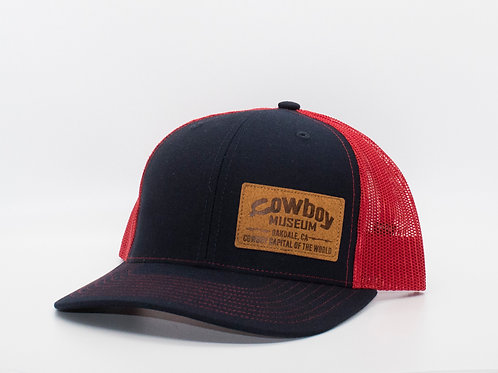 Museum Hat - Navy/Red