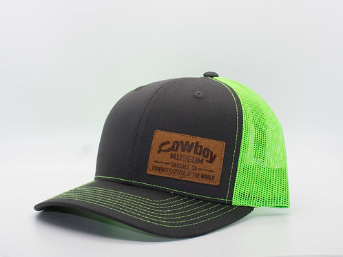 Museum Hat - Gray/Green