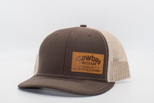 Museum Hat - Brown/Beige