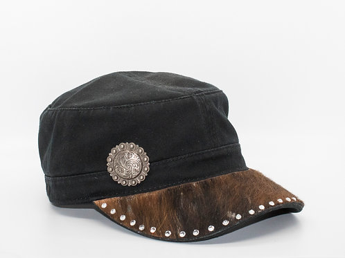 Fashion Cap - Natural Hide