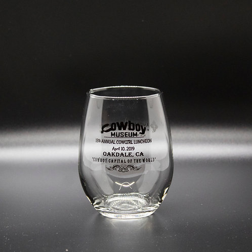 Stemless Luncheon Wine Glass (Past)