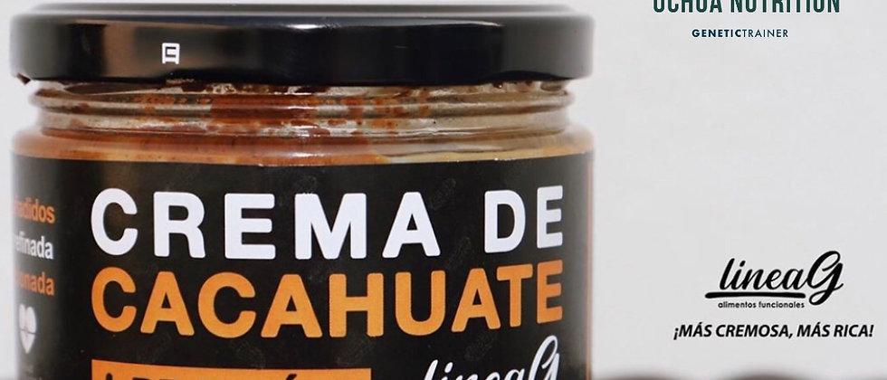 Crema de cacahuate + PROTEINA