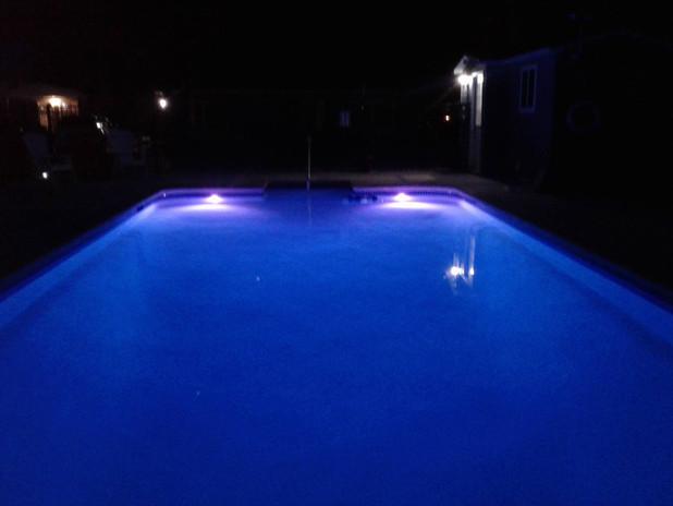 New Pool at Night