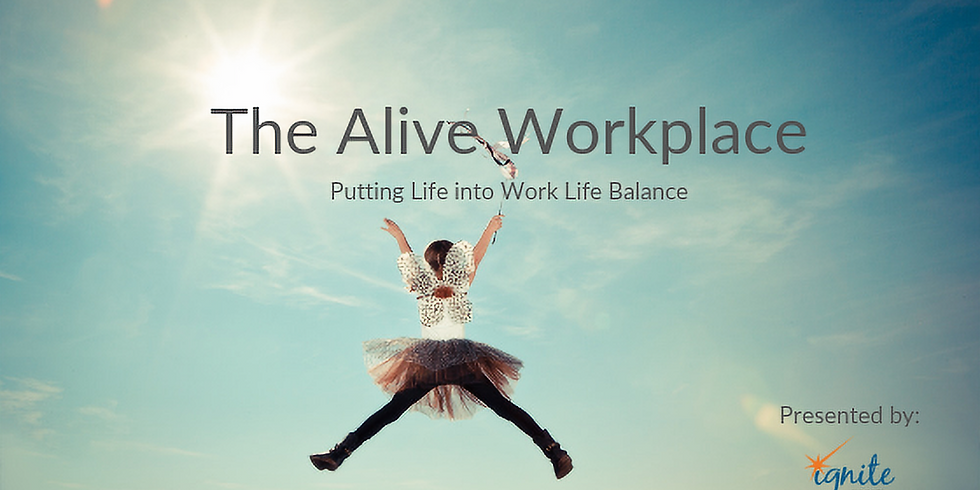 """Partner - """"The Alive Workplace"""""""