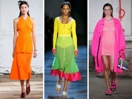 Fabulous Fluorescents - Spring 2020 Fashion Trends