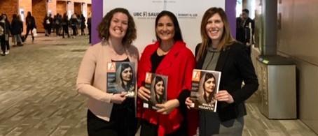 Malala Yousafzai at Art of Leadership Conference Vancouver