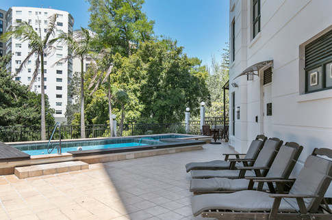 Enjoy the added bonus of a pool and gym, with the apartment located in the newly opened boutique Parkside Hotel & Apartments.