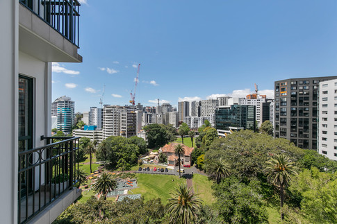 Beautifully situated with fabulous views over Myers Park.