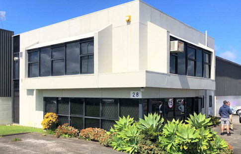 The 150sqm office has great road frontage in the sought after East Tamaki location.