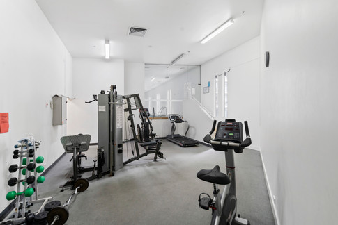 The pool, gym, spa and sauna are available for your unlimited use.