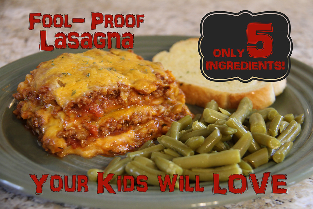 5 Ingredient Lasagna