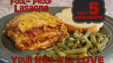 Fool-Proof Lasagna