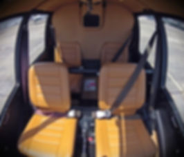 Robinson R44 Haven II Interior - Rio Helicopter Tour