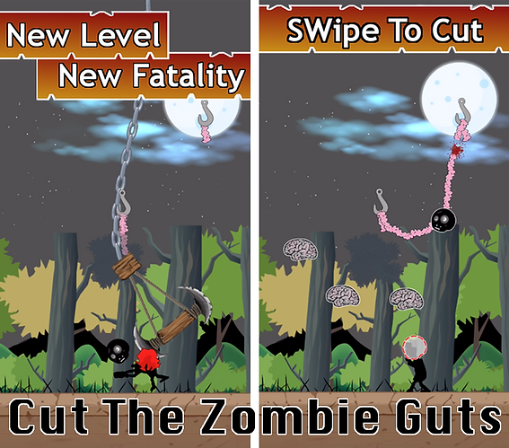 Terry Hess, Brung To Life, Professional Game Designer, West Virginia, Unity5, Google Play, App Store, zombie, mobile game