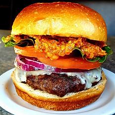Cheesy Chipotle Burger